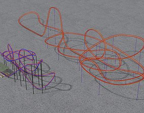 TWO rollercoaster 3D