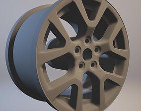 Nissan X Trail 2014 rim printable
