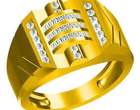 3D print model Men vintage engagement rings wax files