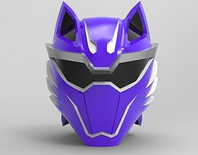 Violet Wolf Ranger from Jungle Fury for 3D printing