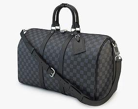 9f7114113 keepall 3D model Louis Vuitton Bag 03