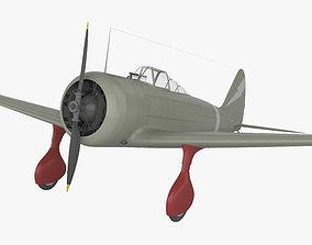 3D model Nakajima Ki-27