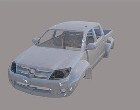 Toyota Hilux Arctic Truck Body 3D printable model