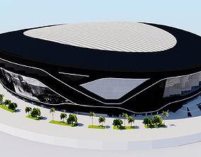 3D model Allegiant Stadium - Las Vegas Raiders USA