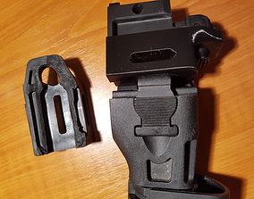 3D print model Airsoft CZ BREN stock spare part