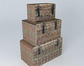 Malles KEY WEST Maisons du monde 3D