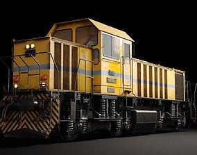 DHS131 locomotive 3D