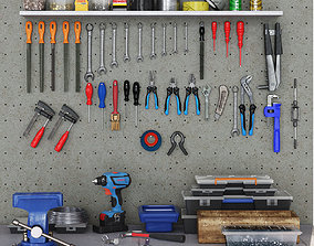 3D garage tools set 1