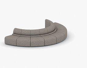3D asset 1029 - Public Seating