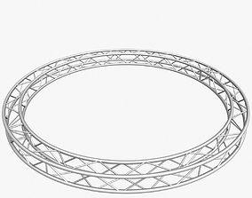 3D print model Circle Square Truss 400mm