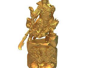 3D printable model Guan Yu