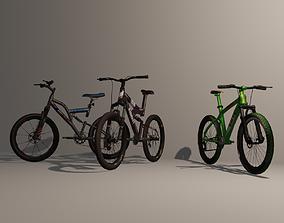 3D model Mountain Bike Pack 3