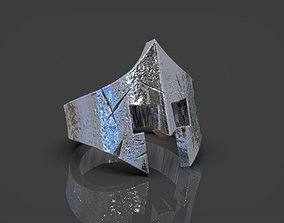 3D print model Ring Spartan Helmet