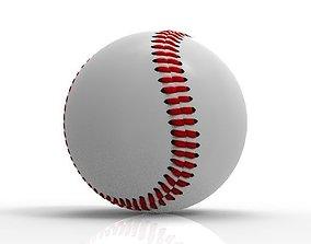 BaseBall Ball Game Sports 3D asset