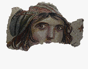 Gypsy Girl Mosaic 3D