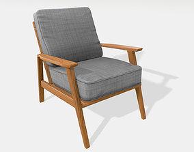 vintage Vintage armchair 3D model