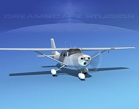 3D Cessna 172 1967 Bare Metal