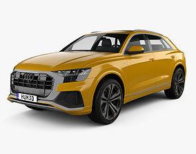 3D Audi Q8 S-line 2018