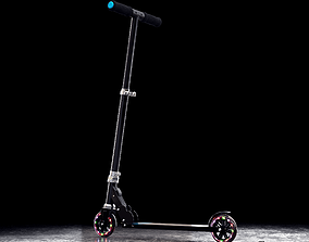 Mongoose Force Folding Scooter 3D