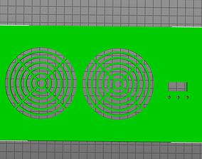 3D print model 4x10 vent booster