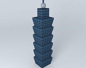 3D model Taipei 101