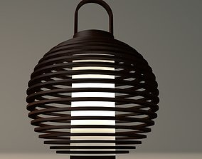 3D model Reed Lamp 2
