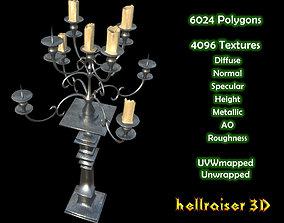 3D model Candelabra - Textured
