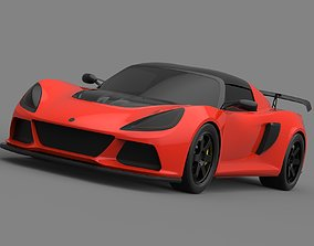 3D model LOTUS EXIGE V6 NO INTERIOR