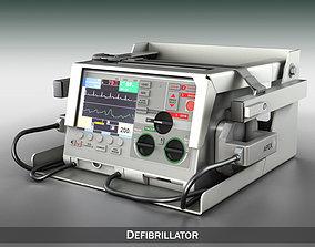 Defibrillator 3D