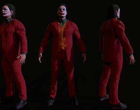 Joker 3d model game-ready