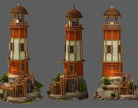 3D asset Lighthouse