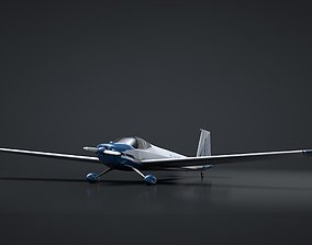 3D Scheibe Falke SF-25 Motorglider Rigged