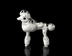 3D model game-ready Poodle Dust Voronoi