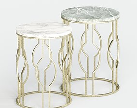 ZARA HOME marble tables 3D model