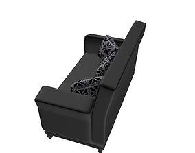 3D model 3 Seater Sofa interior