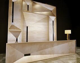 3D model decor Reception