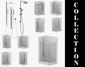 12 Showers Collection 3D
