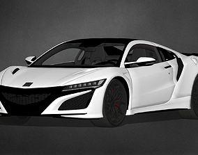 CARM - Honda NSXR 2017 3D