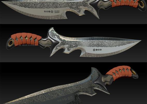 Combat knife (WIP)