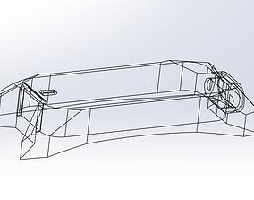 3D printable model leap motion mount for oculus rift
