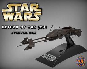 3D print model Star Wars - Return of the Jedi Speeder Bike
