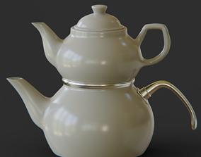 3D model Teapot Ceramic