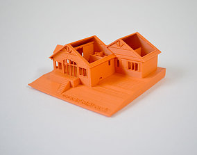 3D printable model I printed my parents house in Canada