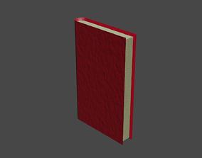 Basic book 3D model