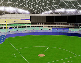softball Nagoya Dome - Japan 3D