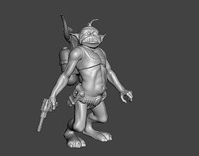 Atlantic ZEPHTON toy figure 3D printable model