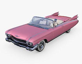 Cadillac Eldorado Convertible 1959 3D model