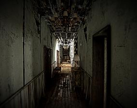 HQ Modular Abandoned Mansion 3D model