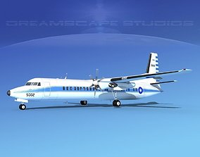 3D model Fokker F-60 Rep of China