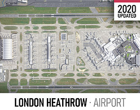 3D model London Heathrow Airport - LHR